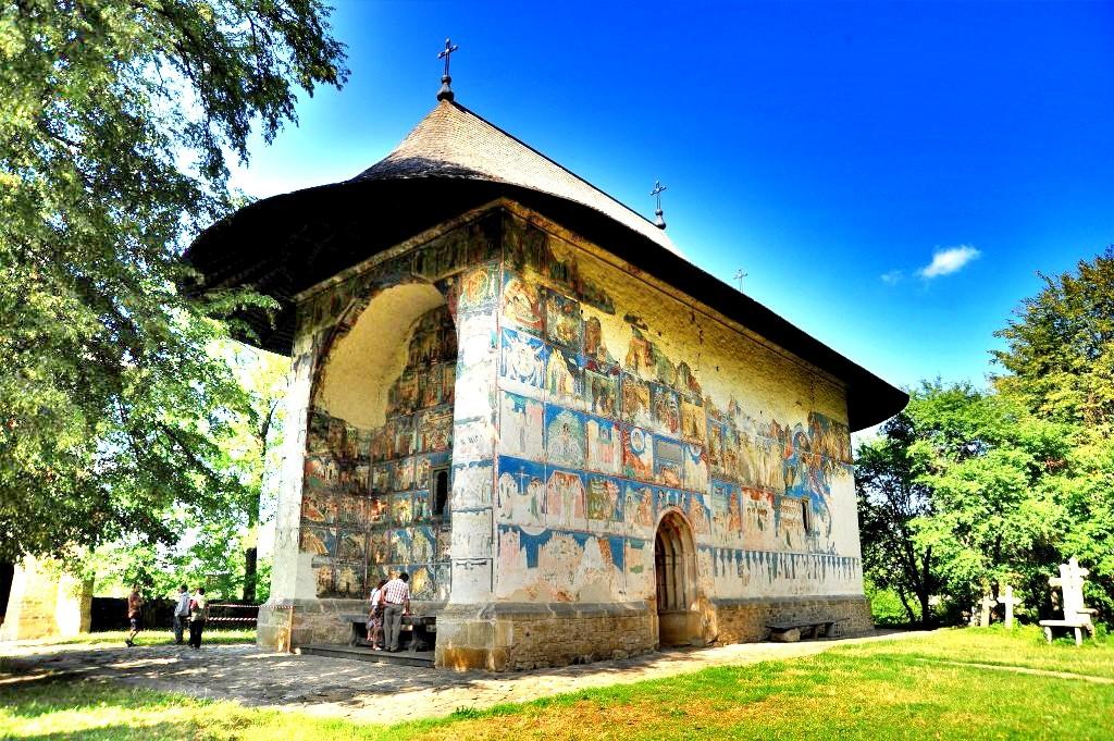 Bisericile din patrimoniul UNESCO din Bucovina